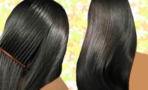 تنعيم الشعر - تنعيم الشعر بوصفات منزلية بسيطة