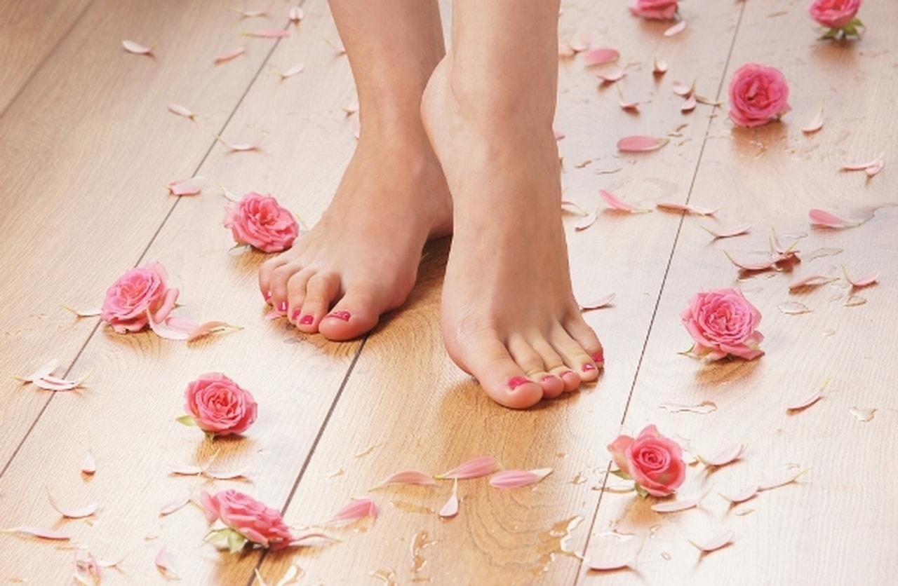 عى قدميك - حيل للعناية بقدمك واظفرك لجمالك