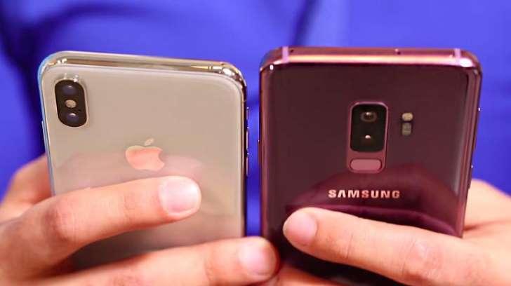 AAvTRxZ - مقارنة بين iPhone X vs Galaxy S9