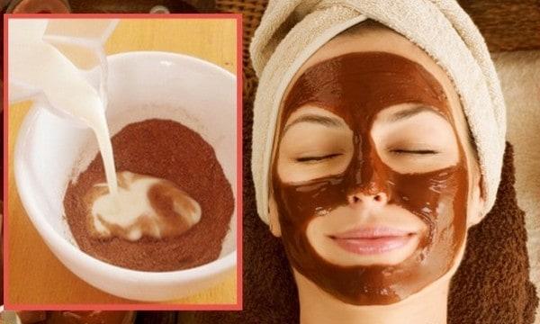 الكاكاو لترطيب البشرة - قناع الكاكاو لترطيب البشرة