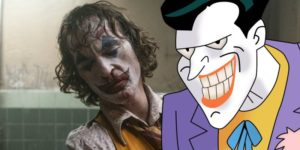 Joaquin Phoenix and Mark Hamill Joker 300x150 - سواء أحببته أم كرهته ، يعرض فيلم جوكر Joker خيالًا مغريًا