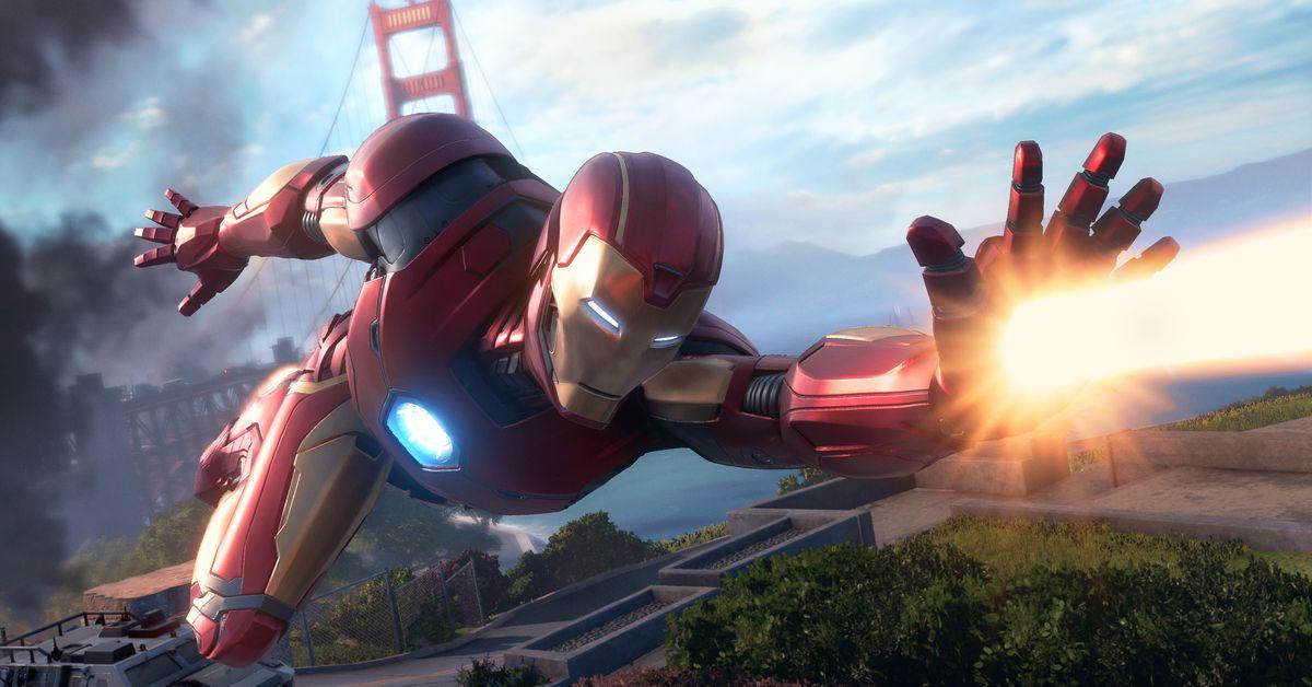 Marvel s Avengers Iron Man - تشبه لعبة Square Enix's Avengers لعبة Destiny مع الأبطال الخارقين
