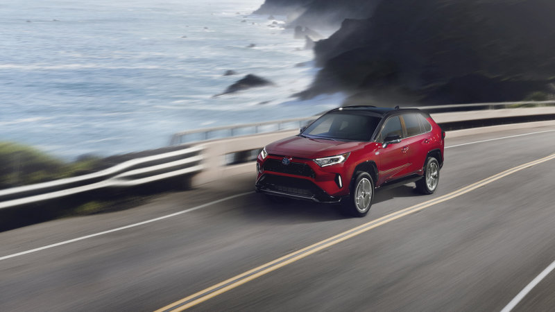 2021 RAV4 Prime Exterior 23 - Toyota 2021 RAV4 Prime plugs in for efficiency, but lets its hair down with 302 hp
