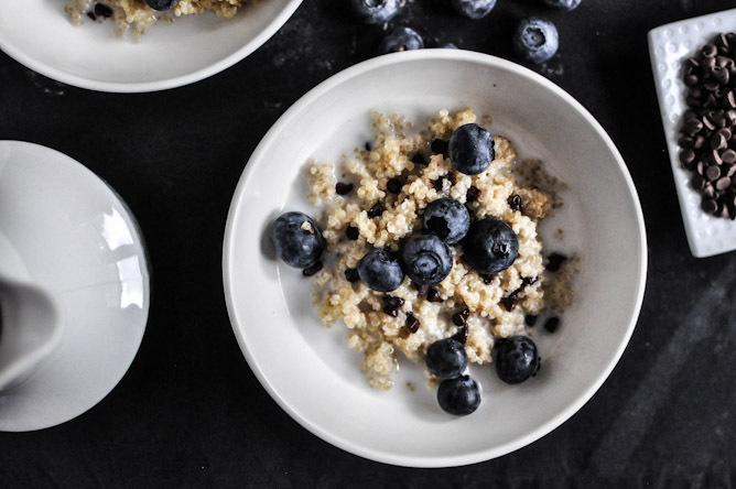 Préparer un petit déjeuner au quinoa et bénéficier d'une énergie débordante toute la journée - Energizing all day long with quinoa breakfast