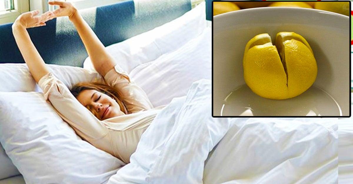 Voici pourquoi il est recommande de mettre un citron dans votre chambre a coucher 1 - Lemon to refresh the air in your bedroom
