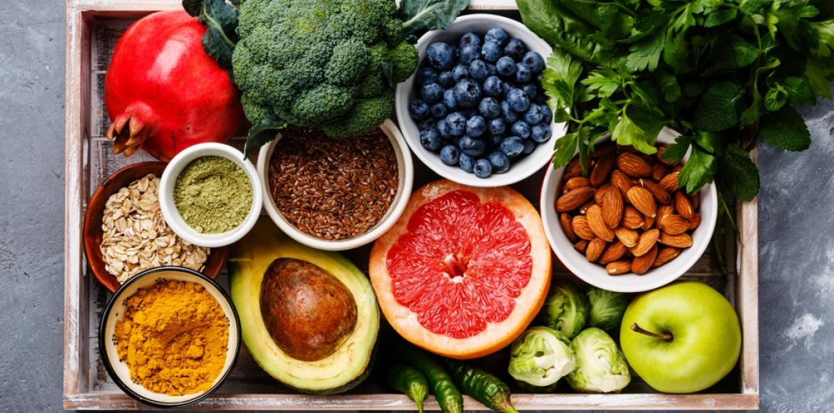 aliments vegetaux sains - Some types of drugs and foods that should not be ingested together