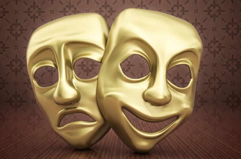 masques content triste gallerylarge - العلاجات الطبيعية التي تعالج الاضطراب الثنائي القطب (الاكتئاب)