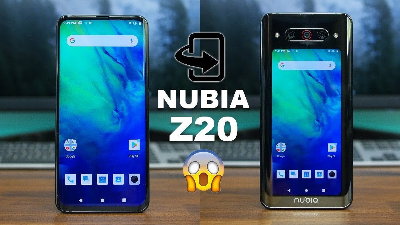 maxresdefault 1 - The Nubia Z20 is the best take yet on the dual-display phone