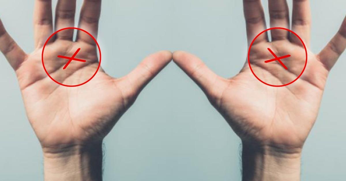 paumes e89886fac7e8f071365ed2f621dbe391e3550984 - Voici ce que signifie la lettre X qui se trouve sur votre paume
