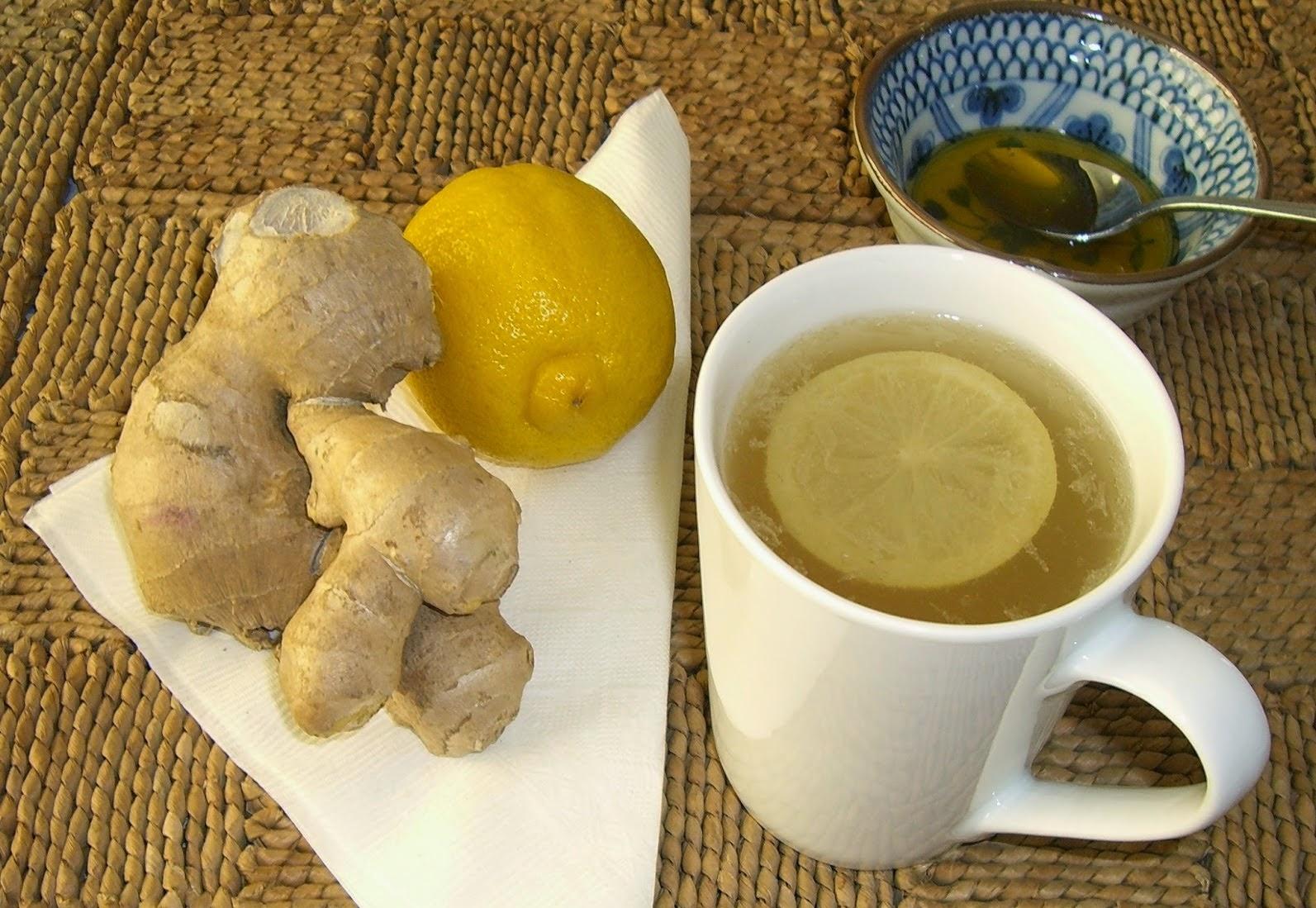 L'eau de gingembre et citron pour la perte de poids et l'élimination des graisses - L'eau de gingembre et citron pour la perte de poids et l'élimination des graisses
