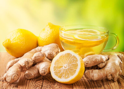 gingembre et citron - Ginger and lemon water for weight loss and fat removal
