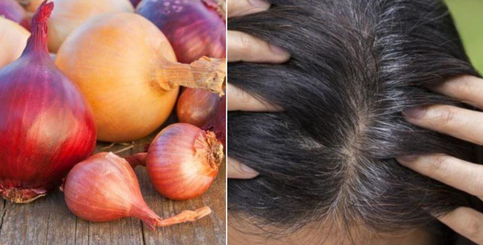 jus - Utilisez l'oignon pour stimuler la croissance des cheveux