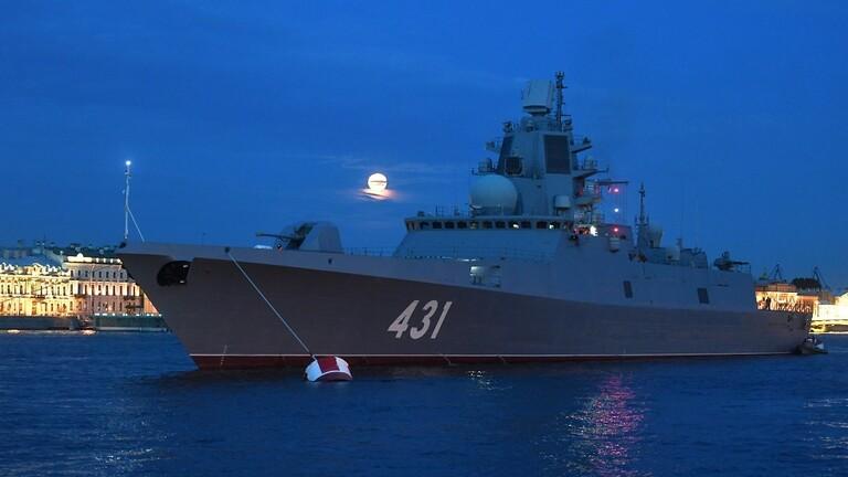 5e7b114c423604664a21e9d1 - روسيا تختبر سفينة حربية مضادة للغواصات