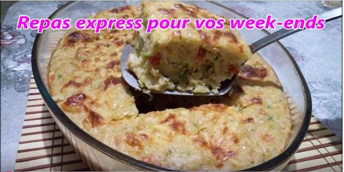 Capture 10 - Repas express pour vos week ends