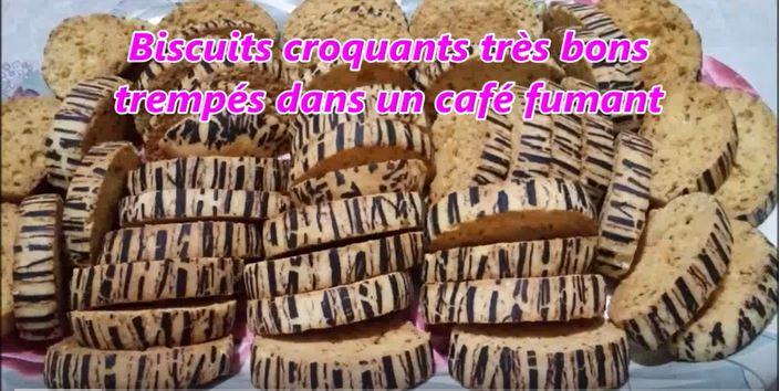 Capture 4 1 - Biscuits croquants très bons trempés dans un café fumant