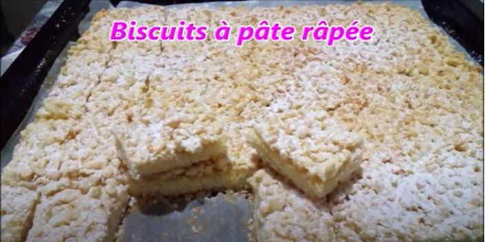 Capture 25 - Biscuits à pâte râpé