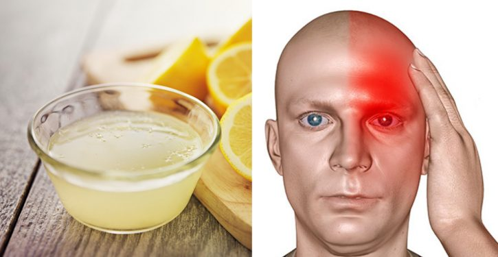 A recipe with lemon and salt to immediately stop migraine - A recipe with lemon and salt to immediately stop migraine