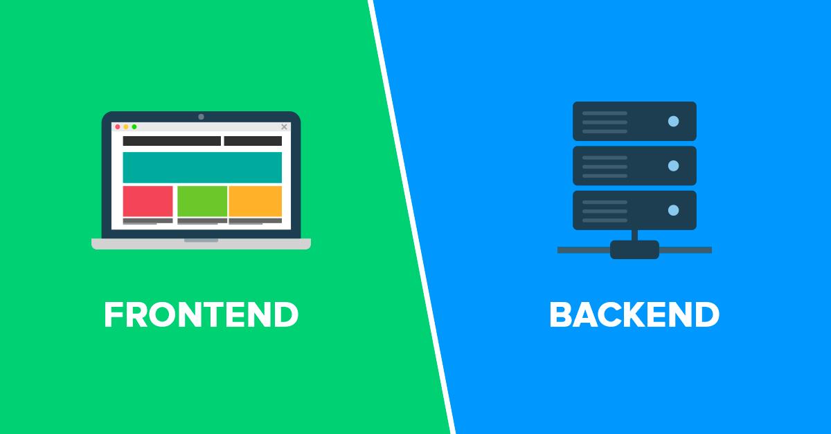 الفرق بين الفرونت اند والباك اند FrontEnd BackEnd - ماهو الفرق بين الفرونت اند والباك اند (FrontEnd & BackEnd)