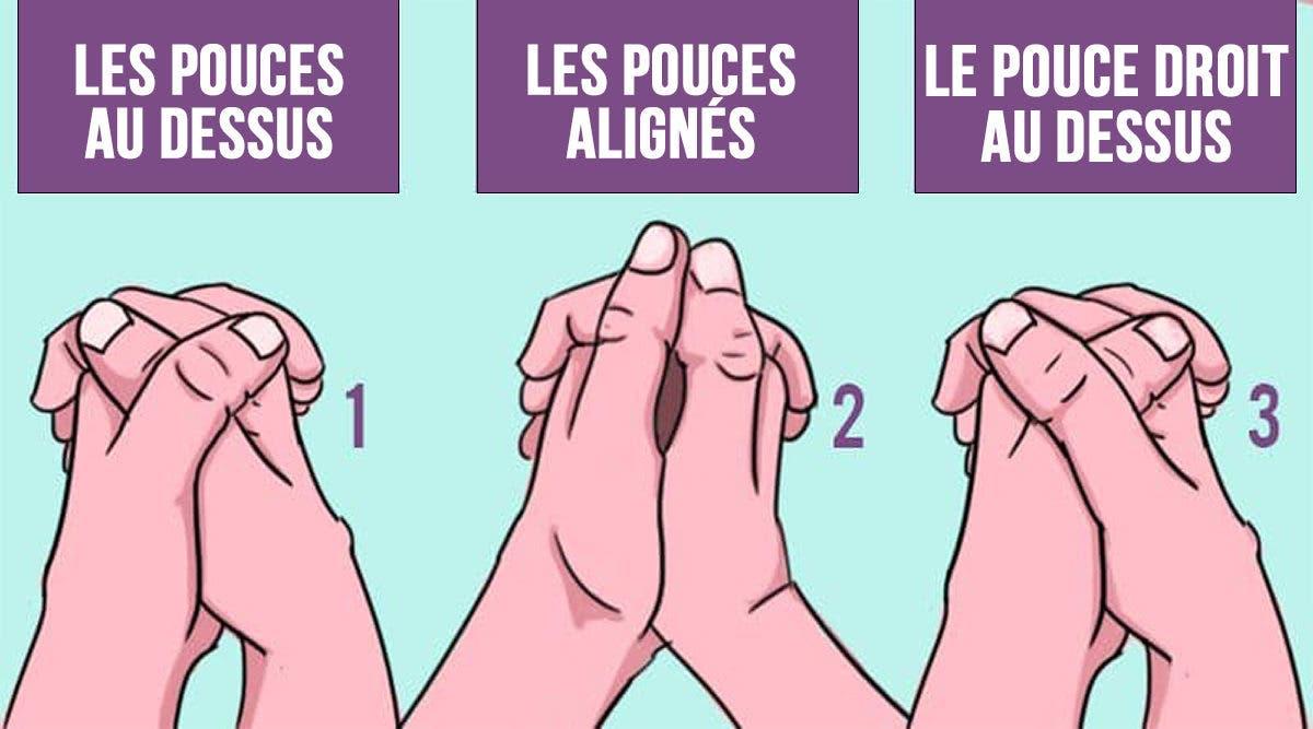 التي تشبك بها أصابعك تظهر نوع الشخص الذي أنت عليه - الطريقة التي تشبك بها أصابعك تظهر نوع الشخص الذي أنت عليه