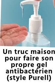 Un truc maison pour faire son propre gel antibacterien style Purell - Un truc maison pour faire son propre gel antibactérien - style Purell