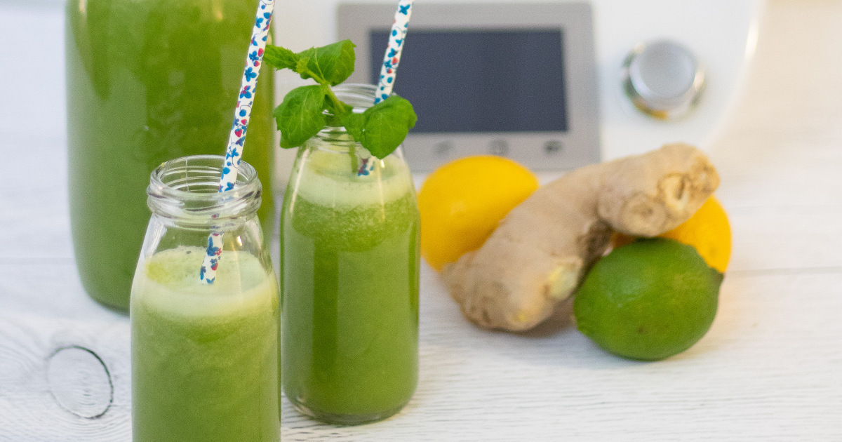 jus detox - Detoxify green juice to drink before bedtime - ideal before winter