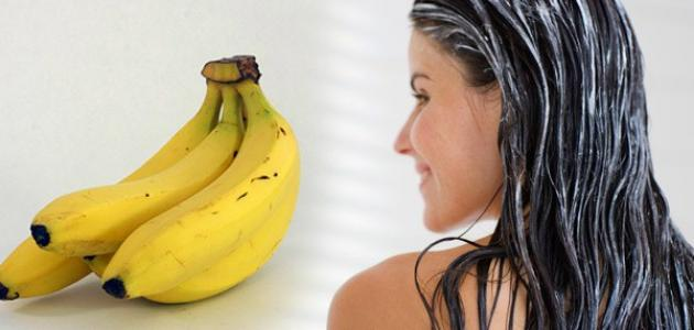 مكون فعال للعناية بالشعر الجاف - الموز مكون فعال للعناية بالشعر الجاف