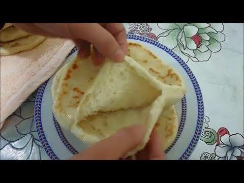 في المقلاة سحابة حقيقية - خبز في المقلاة سحابة حقيقية
